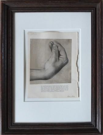 Che Vuoi?, 2014, Pencil, Indian ink, print on paper, 20,2 x 15,5 cm
