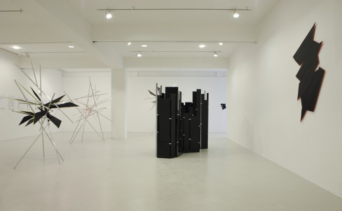 exhibition view 5x3, Kunstraum Düsseldorf, 2012