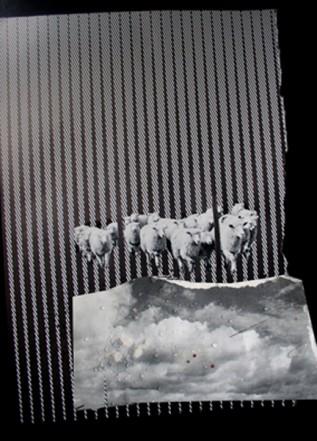 Somnia, 2008, Foto, Papier, Collage, 30 x 20 cm