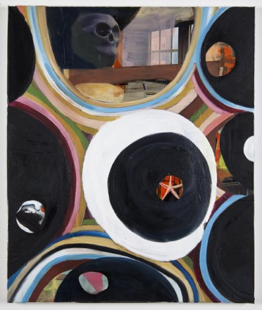 Epiphanie, Öl Collage auf Leinwand, 2011, 60x50cm