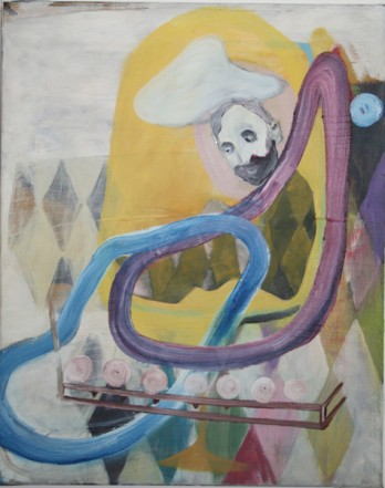 O.T., 2009, Öl auf Leinwand, 50x40cm