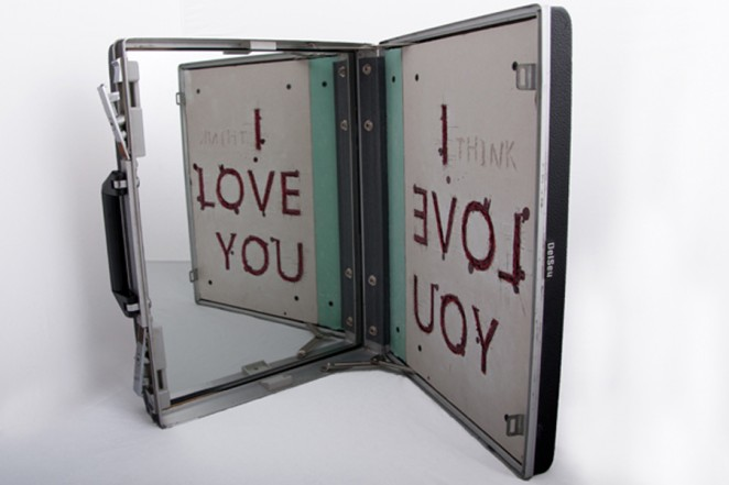(I THINK) I LOVE YOU, 2012, Mixed Media, 45 x 57 x 40 cm