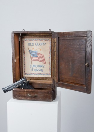 Old Glory, 2011, Mixed Media, 51 x 58 x 13 cm