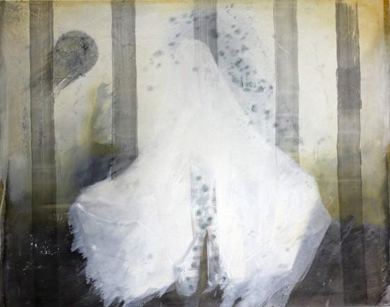 Geist, 2012, Öl auf Leinwand, 150 x 190 cm