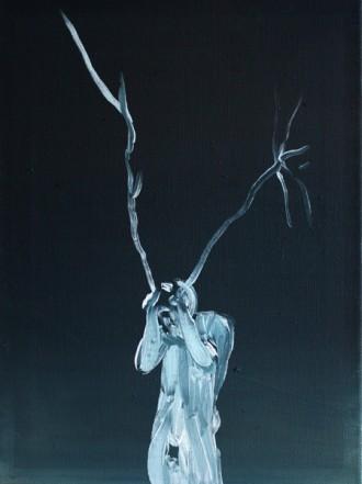 Ohne Titel, 2012, Öl auf Leinwand, 54 x 40 cm