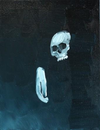 Ohne Titel, 2012, Öl auf Leinwand, 54 x 42 cm