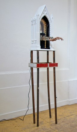 Untitled (Chapel), 2010, Mixed media,  270 x 56 x 37 cm