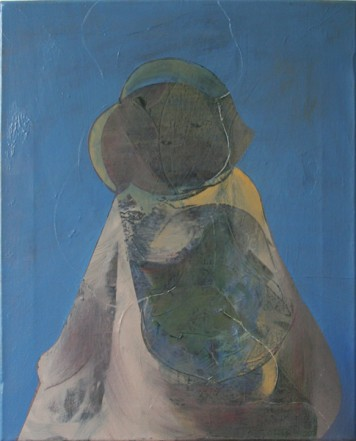 Untitled, 2010, Oil on canvas, 50 x 42 cm