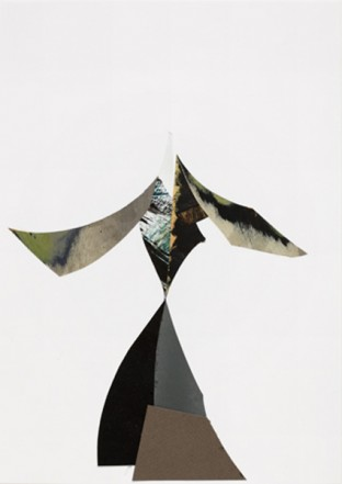 Untitled, 2009, Collage, mixed media, 29,7 x 21 cm