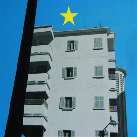 No 150, 2009, Acrylic on canvas, 100 x 100 cm