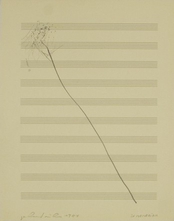In Memoriam, 1984, Pencil on paper, 34 x 27 cm