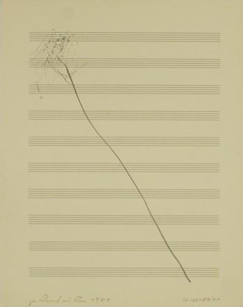 In Memoriam, 1984, Pencil on paper, 34 x 27 cm
