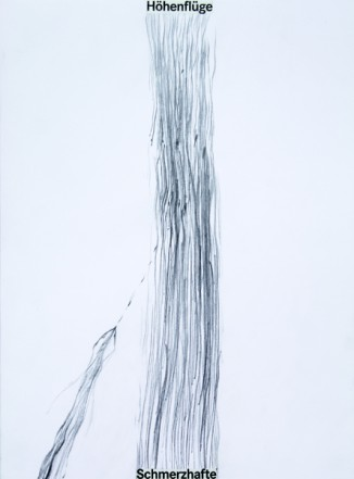 Ohne Titel, 2010, Collage, Bleistift auf Karton, 40 x 30 cm