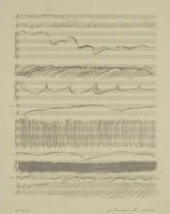 Unisono, 2002, Pencil on paper, 34 x 27 cm