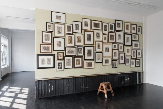Franz Burkhardt, DEHORS DEDANS, 2014, Ausstellungsansicht